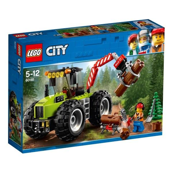 60181 LEGO® City Forsttraktor 174 Teile B-Ware OVP