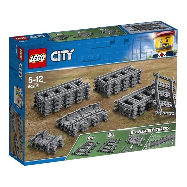 LEGO® City 60205 Schienen und Kurven 20 Teile