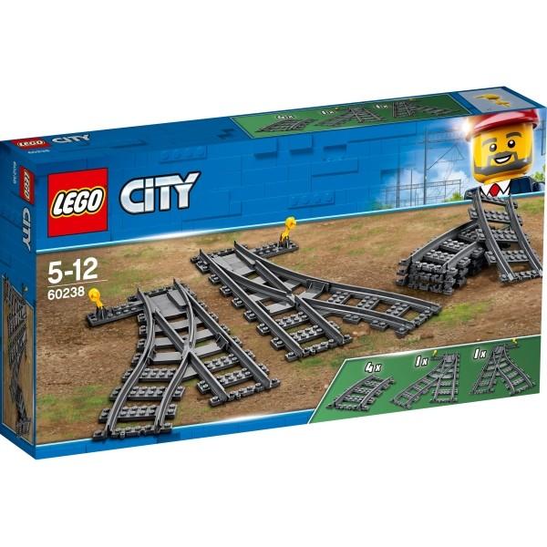 LEGO® City 60238 Weichen 8 Teile B-Ware OVP