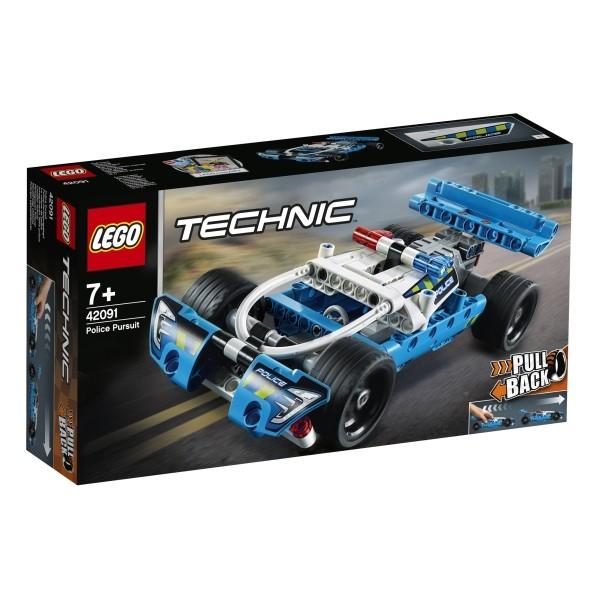 LEGO® Technic 42091 Polizei-Verfolgungsjagd pull-back