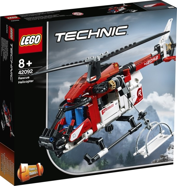 LEGO® Technic 42092 Rettungshubschrauber B-Ware OVP
