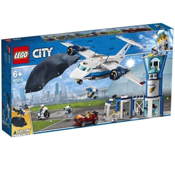 LEGO® City 60210 Polizei Flieger Stützpunkt