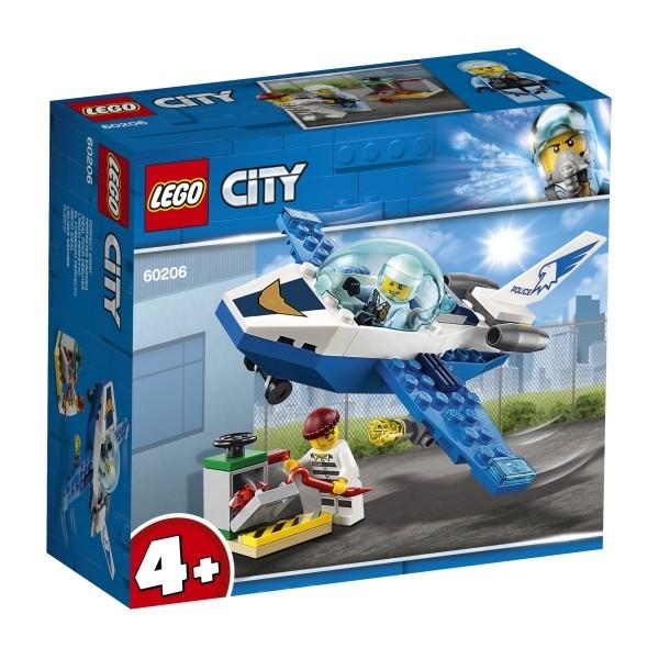 LEGO® City 60206 Polizei Flugzeugpat rouille 4+ B-Ware OVP