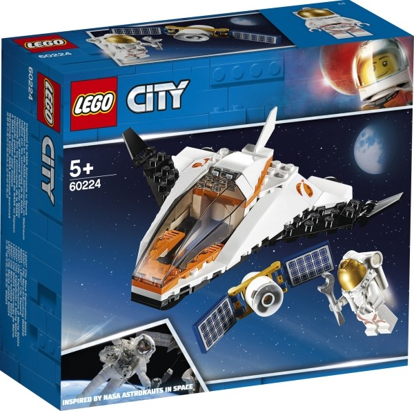 LEGO® City 60224 Satelliten-Wartungsmission 84 Teile