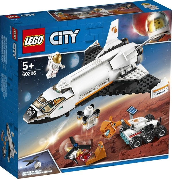 LEGO® City 60226 Mars Forschungs-Shuttle 273 Teile