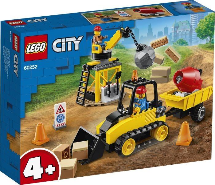LEGO® City 60252 Bagger auf der Baustelle 4+