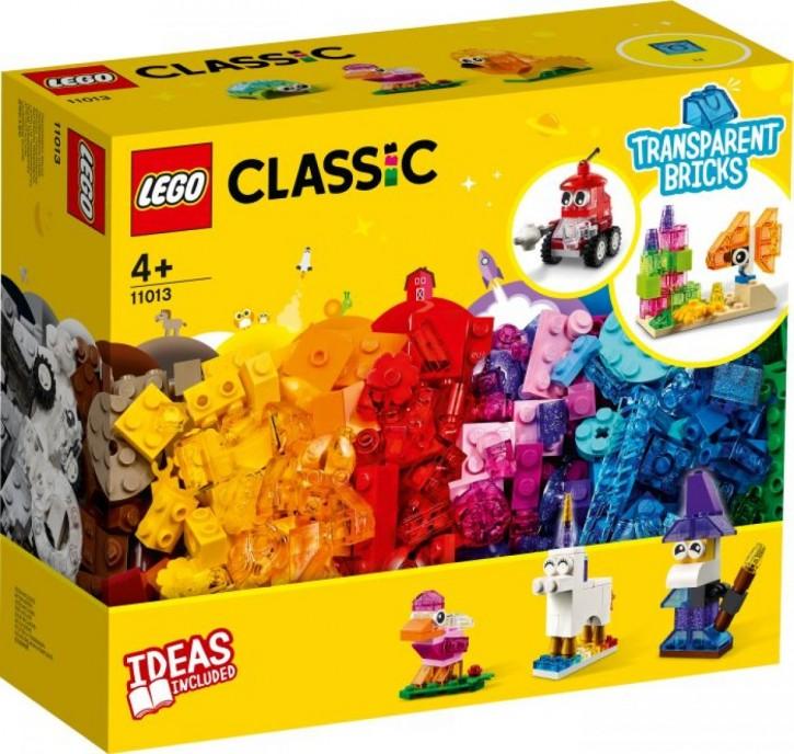 LEGO® Classic 11013 Kreativ-Bauset mit durchsichtigen Steinen