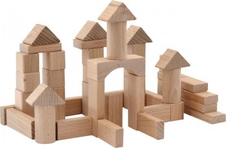 SpielMaus® Holz Naturbausteine 100 Stck.