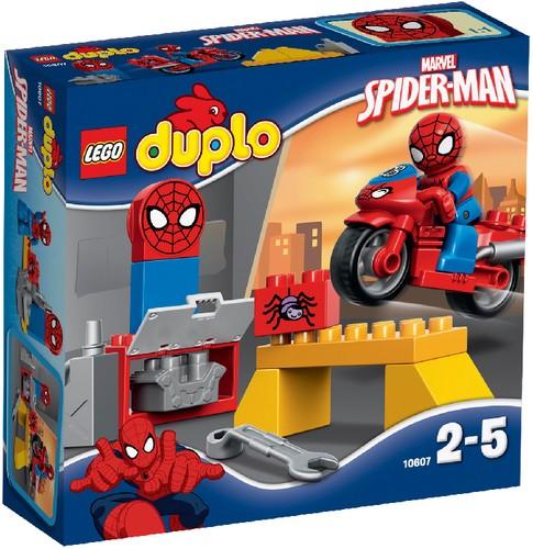 LEGO DUPLO 10607 Spider-Man Motorrad-Werkstatt B-Ware