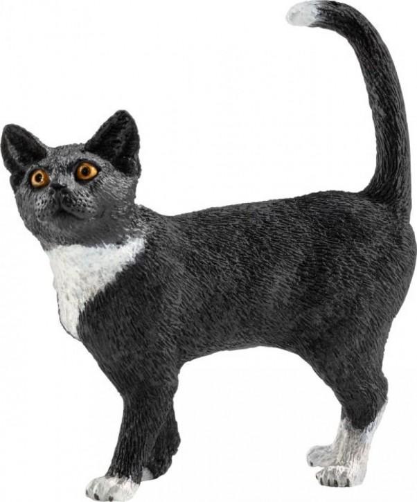 Schleich Farm World 13770 Katze stehend