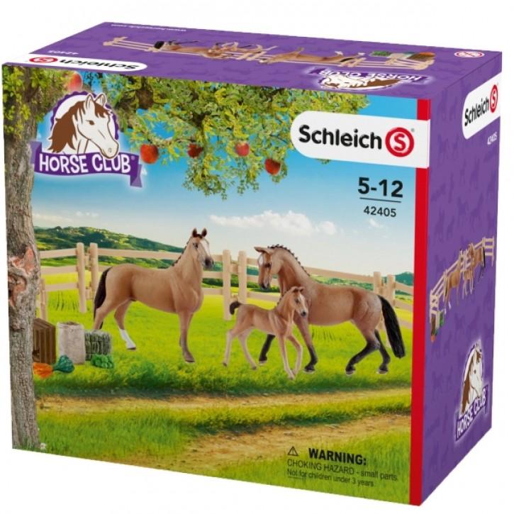 Schleich® HorseClub 42405 Hannoveraner Familie auf der Weide