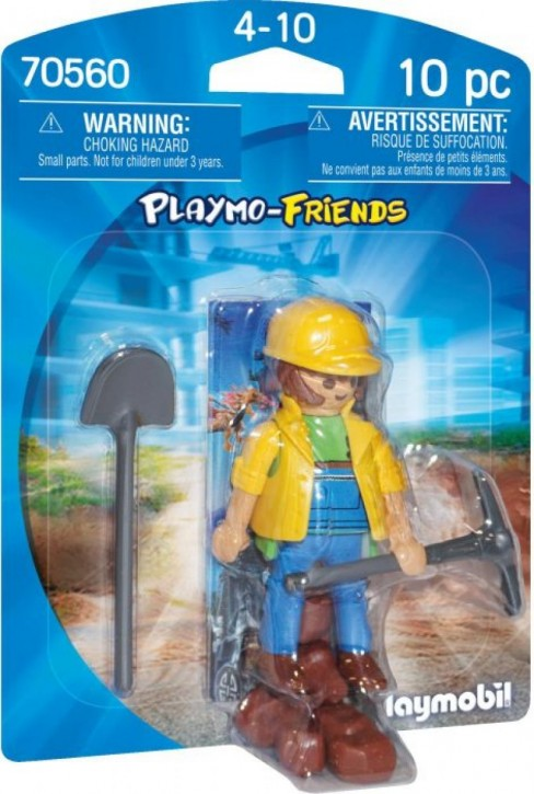 Playmobil Playmo-Friends 70560 Bauarbeiter