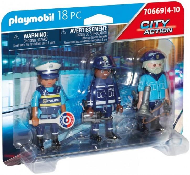 Playmobil 70669 Figurenset Polizei