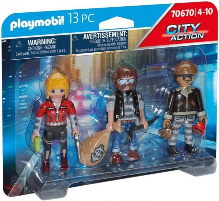 Playmobil® 70670 Figurenset Ganoven