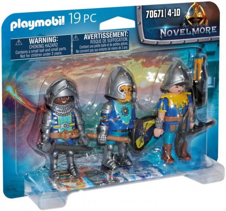 Playmobil 70671 Novelmore Ritter 3er Set