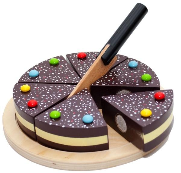 Tanner Schokoladentorte aus Holz B-Ware OVP