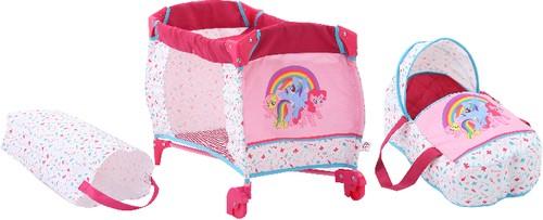 My little Pony Puppen-Reisebett 2in1 Hauck B-Ware OVP