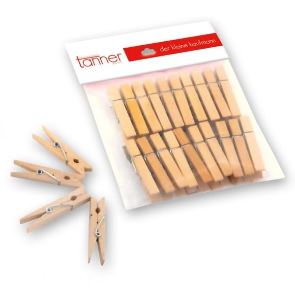 Tanner Wäscheklammern aus Holz 20 Stck