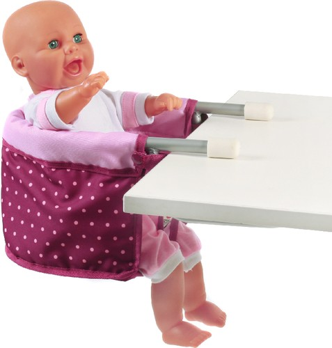 CHIC 2000 Puppen-Tischsitz brombeere B-Ware OVP