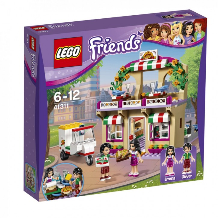 LEGO 41311 Friends Heartlake Pizzeria B-Ware OVP