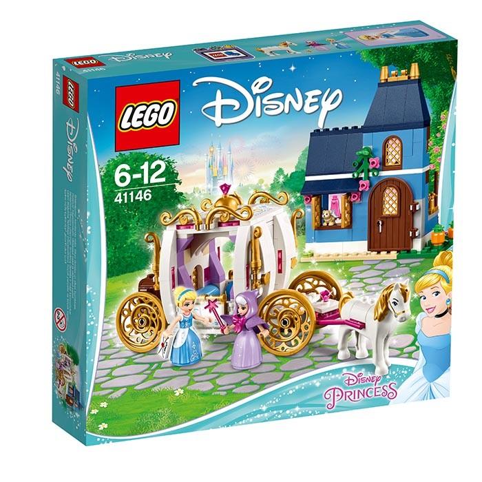 41146 LEGO® Disney Princess Cinderellas zauberhafter Abend B-Ware OVP