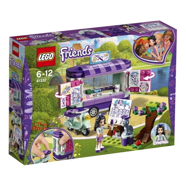 41332 LEGO® Friends Emmas rollender Kunstkiosk B-Ware OVP