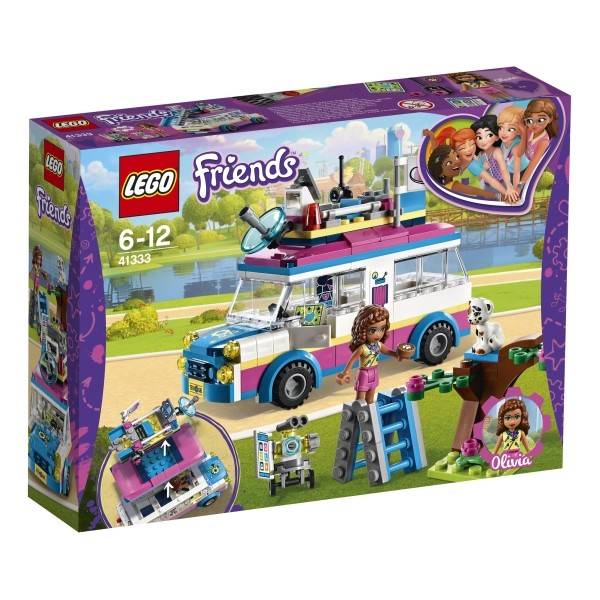 41333 LEGO® Friends Olivias Rettungsfahrzeug B-Ware OVP