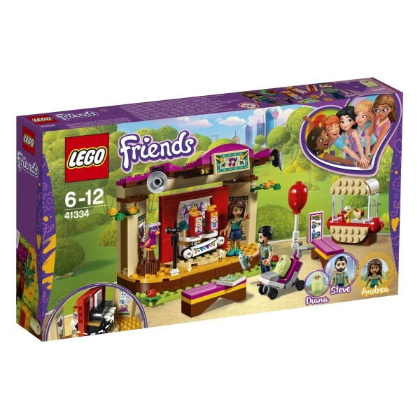 41334 LEGO® Friends Andreas Bühne im Park B-Ware OVP