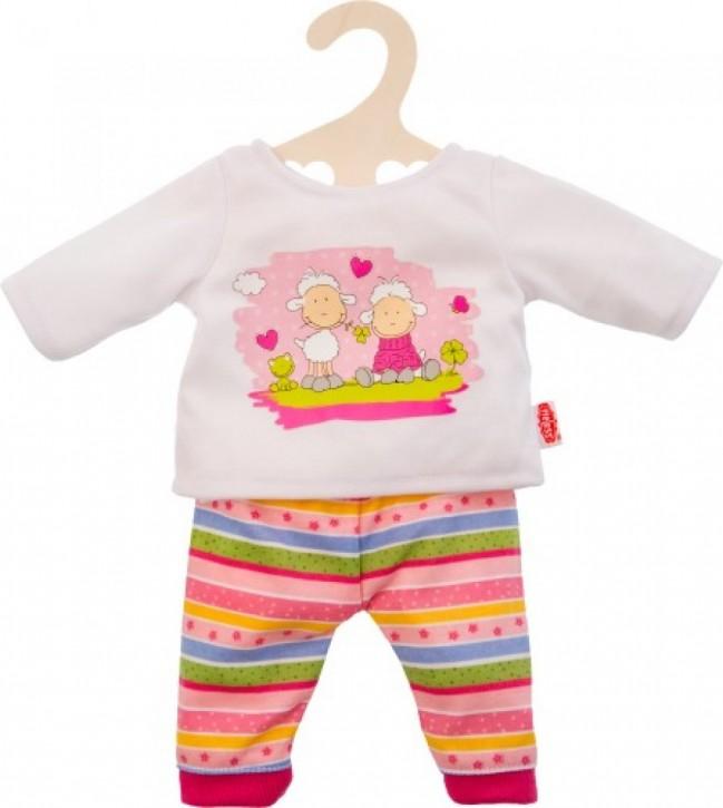 Heless Puppen-Pyjama Glücksschäfchen Gr.28-35cm