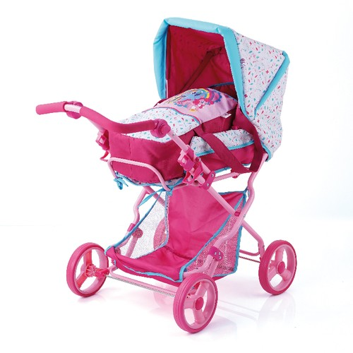 Puppen-Kombiwagen Julia My little Pony Hauck 3+j B-Ware OVP