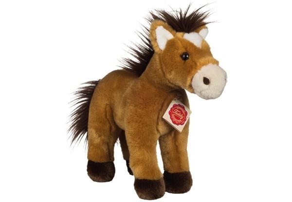 Teddy Hermann Pferd stehend goldbraun 25 cm