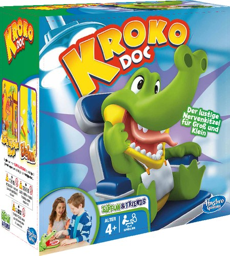 Hasbro Kroko Doc Reaktionsspiel 4+j B-Ware OVP