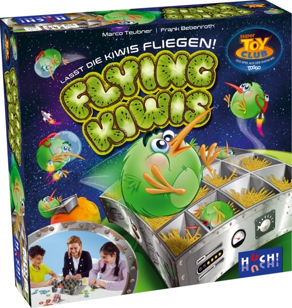 Flying Kiwis Brettspiel