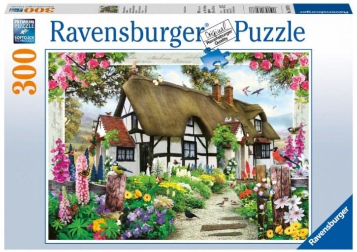 Blumenparadies am Landhaus Ravensburger Puzzle 300