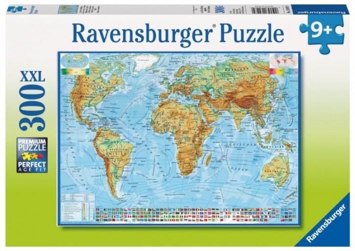 Politische Weltkarte Ravensburger Puzzle 300
