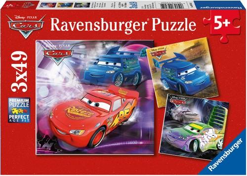 Ravensburger Puzzle Disney Pixar Cars Auf der Rennstrecke 3x49 Teile