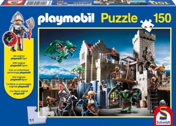 Playmobil Puzzle Kampf um den Königsschatz 150 B-Ware OVP