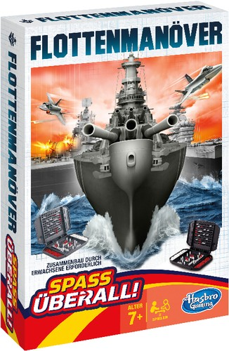 Flottenmanöver Kompakt Strategiespiel B-Ware OVP