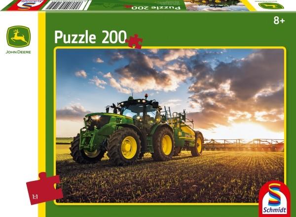 Puzzle John Deere Traktor 200 Teile B-Ware OVP