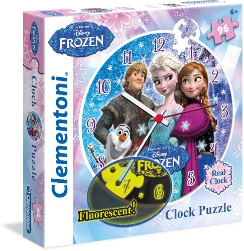 Puzzleuhr Disney FROZEN Die Eiskönigin 96 Teile B-Ware OVP