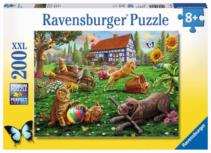 RV Puzzle Entdecker auf vier Pfoten 200 Teile