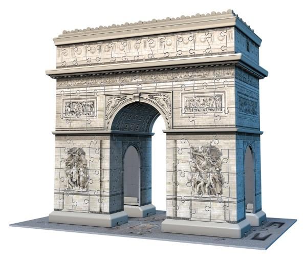 Ravensburger 3D Puzzle Triumphbogen Paris 216 Teile B-Ware OVP