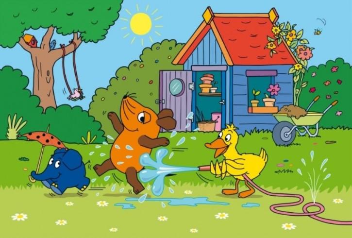 Kinderpuzzle Viel Spaß mit der Maus 3x48 Teile B-Ware OVP