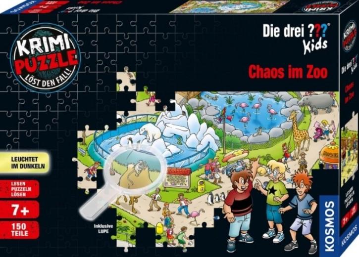 Kosmos Krimipuzzle ??? Kids 150 Chaos im Zoo