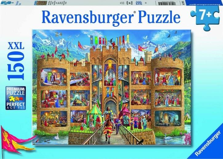RV Puzzle Blick in die Ritterburg 150 Teile