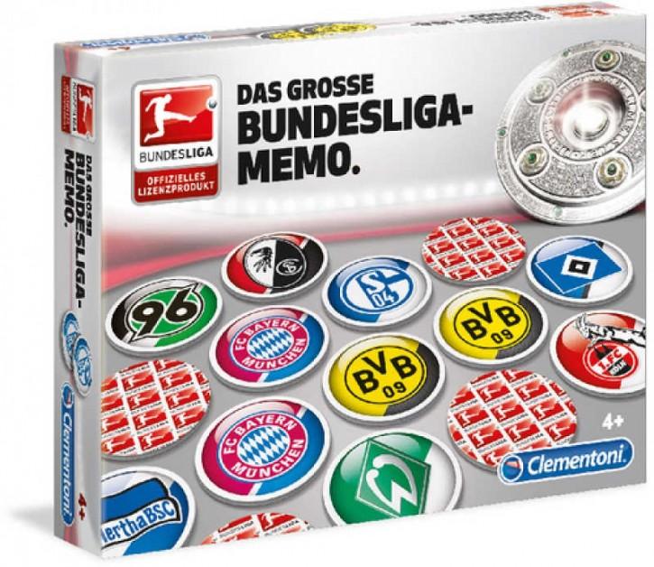 Memo Bundesliga Deluxe Clementoni
