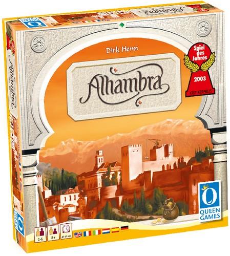 Der Palast von Alhambra Spiel 30x30 cm