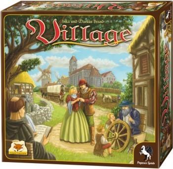 Village Gesellschaftsspiel mit Taktik ab12J