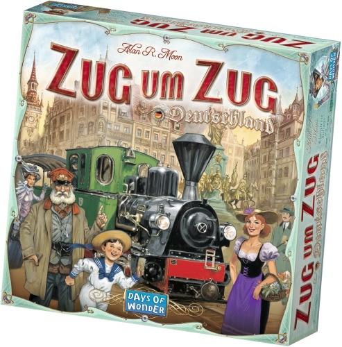 Zug um Zug Deutschland Jubiläumsausgabe Brettspiel