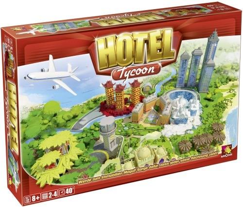 Hotel Tycoon Brettspiel B-Ware OVP